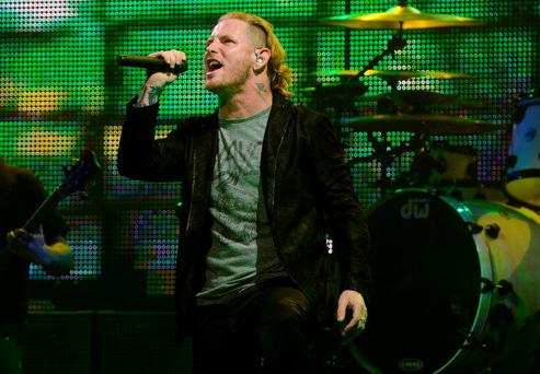 LOS ANGELES, CA - MAY 02: Musician Corey Taylor performs 5th Annual Revolver Golden Gods Award Show at Club Nokia on May 2, 2013 in Los Angeles, California. (Photo by Frazer Harrison/Getty Images)