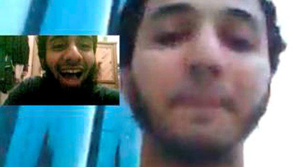 Skype chat images of Aseel Muthana talking to Forhad Rahman recovered from the phone of Forhad Rahman. phone. They are dated 22/02/2014 (the day after Muthanaleft the UK). The small inserted picture is of Rahman.