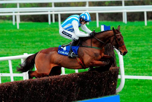 Killultagh Vic and jockey Ruby Walsh