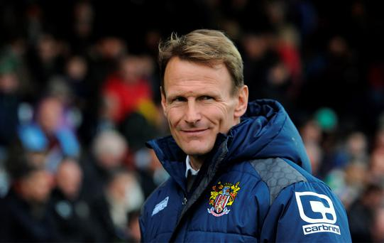 Sacked Stevenage manager Teddy Sheringham