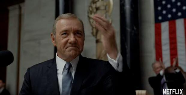 Frank Underwood (Kevin Spacey), House of Cards season 4 trailer