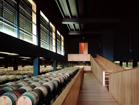Campo Viejo is one of the largest wineries in Spain, the barrel room alone is the size of an aircraft hangar.
