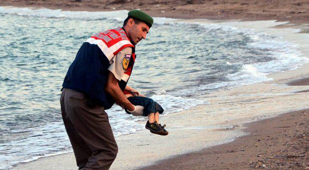 Images of Aylan Kurdi after he washed up on a Turkish beach led to an international outcry