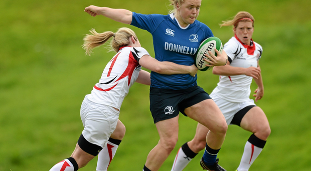 Cliodhna Moloney in action for Leinster