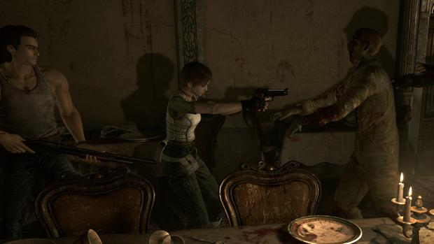 Resident Evil Zero HD: Look out - zombies!