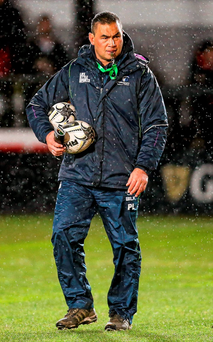 Connacht head coach, Pat Lam. Photo: Gareth Everett / SPORTSFILE