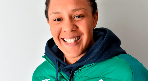 Ireland's Sophie Spence. Photo: Brendan Moran / Sportsfile
