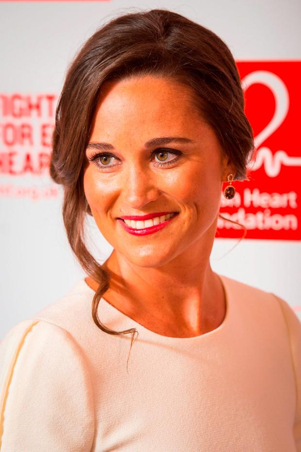 Pippa Middleton arrives at the British Heart Foundation: Roll Out The Red Ball fundraiser at the Savoy Hotel in London. Photo: Dominic Lipinski/PA Wire