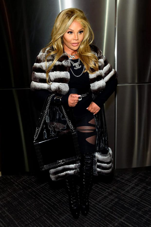 Lil' Kim attends Kanye West Yeezy Season 3 on February 11, 2016 in New York City. (Photo by Jamie McCarthy/Getty Images for Yeezy Season 3)