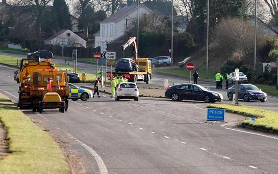 Members of the public stopped to help those caught up in the collision