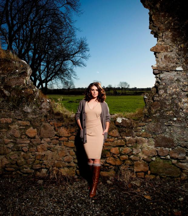 In love: Stunning Sile says she's never been happier. Photo: Kip Carroll for LIFE magazine