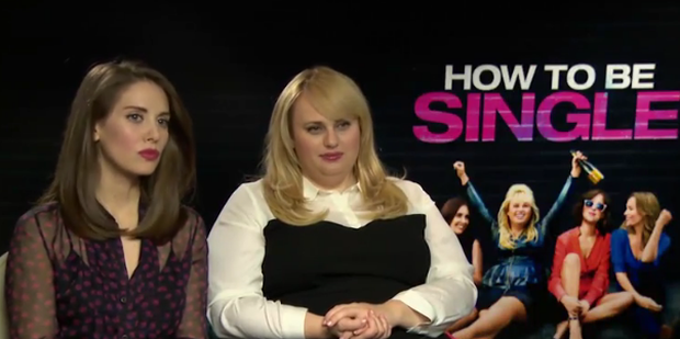 Rebel wilson and alison brie tell independent how to be single how to be single co stars alison brie and rebel wilson chat to independent ccuart Images