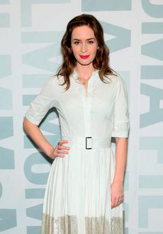 Girl interrupted: Emily Blunt plays Rachel, the alcoholic narrator of Paula Hawkins' best-selling psychological thriller, The Girl on the Train, soon to appear on the silver screen