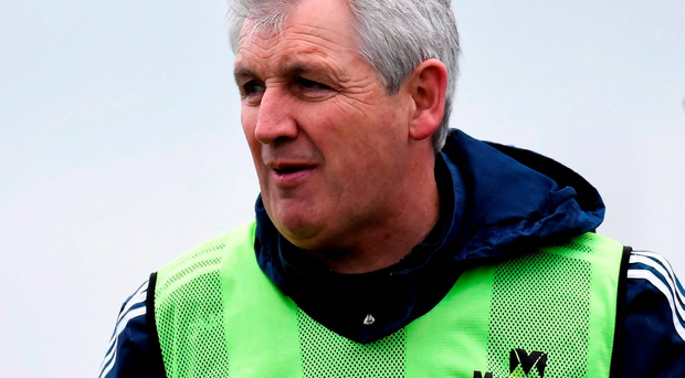 'McGeever (p) is adopting a cautious approach ahead of today's AIB All-Ireland senior club football semi-final against Ballyboden St Enda's' Photo: Sportsfile