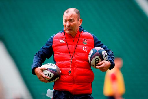 England head coach Eddie Jones (David Davies/PA)