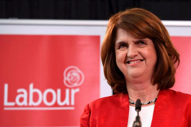 'The unwitting kingmaker in this election will be Joan Burton, as reflected in the fortunes of her Labour Party' Photo: Reuters