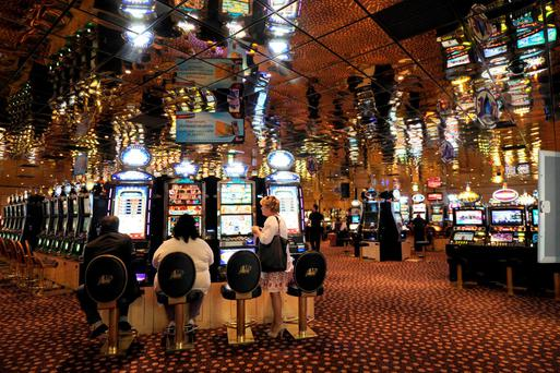 A commando attacked the Aix-en-Provence casino on February 13, 2016 during the night with Kalachnikovs, spreading panic before taking the casino's cash. / AFP / ANNE-CHRISTINE POUJOULATANNE-CHRISTINE POUJOULAT/AFP/Getty Images