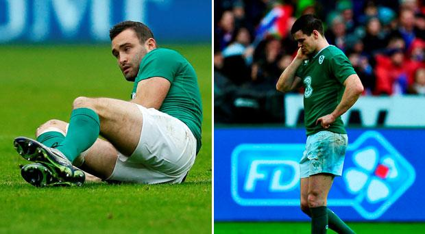 Dave Kearney and Jonathan Sexton were the victims of some unacceptable hits today
