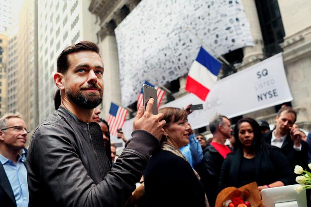 Jack Dorsey, inventor and co-founder of Twitter, which released financial results last week, revealing 'paltry' 60pc revenue increase. So why are some analysts calling this 'failure'?. Photographer: Yana Paskova/Bloomberg