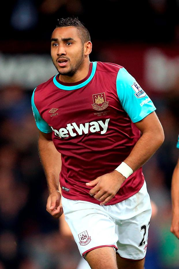 'Last week, it was reported that Dimitri Payet was wanted by an unnamed Chinese club which was prepared to sign him for €50m and pay him €10m a year in wages'. Photo: PA