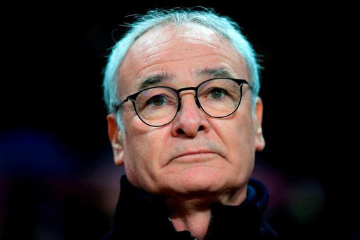 Leicester City manager Claudio Ranieri. Photo: PA