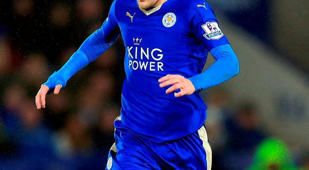 Leicester City's Jamie Vardy. Photo: Nigel French/PA Wire