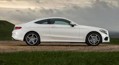 HEAD TURNER: The coupe is an appealing package of stylish design and driving dynamics