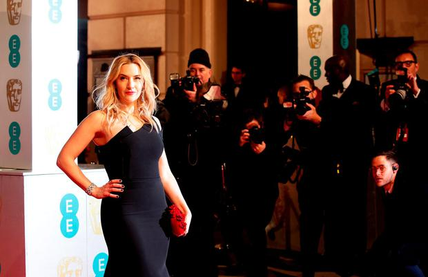 Kate Winslet attending the EE British Academy Film Awards at the Royal Opera House, Bow Street, London