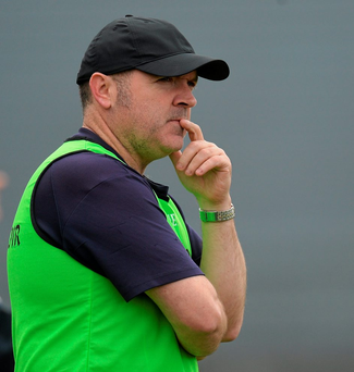 Meath manager Martin Ennis Photo: Sportsfile