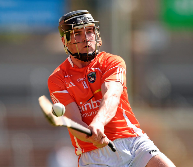 John Corvan, pictured in 2014, gave Armagh an early lead Photo: Sportsfile