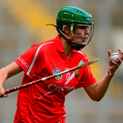 Hannah Looney, pictured playing for Cork, scored for UUC 11 minutes from time Photo: Sportsfile