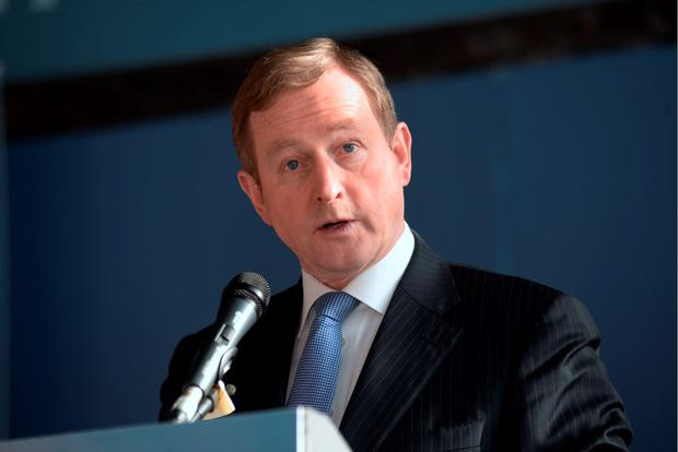 Taoiseach Enda Kenny. Photo: Caroline Quinn