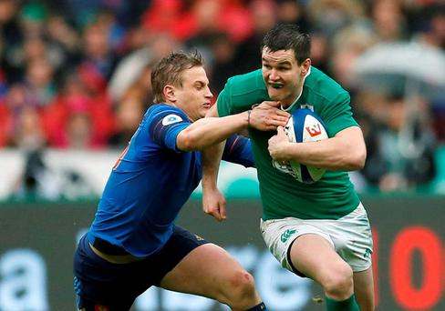 Three penalties from Johnny Sexton is all Ireland could muster
