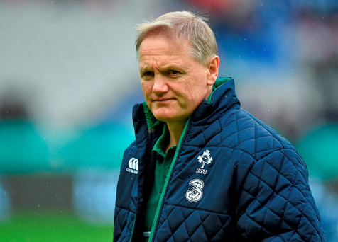 Joe Schmidt is now being questioned closely and maybe that is no bad thing. Photo: Sportsfile
