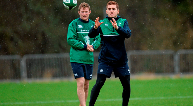 Paddy Jackson has been the in-form out-half in Ireland this season but has so far been overlooked by Joe Schmidt. Photo: Sportsfile