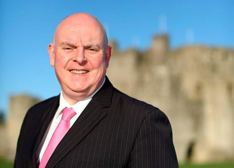 Ray Butler was elected as a TD in 2011 but his seat is in real danger this time around. Photo: Gerry Mooney