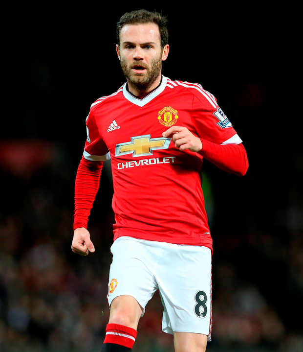 Juan Mata. Photo: Martin Rickett/PA Wire