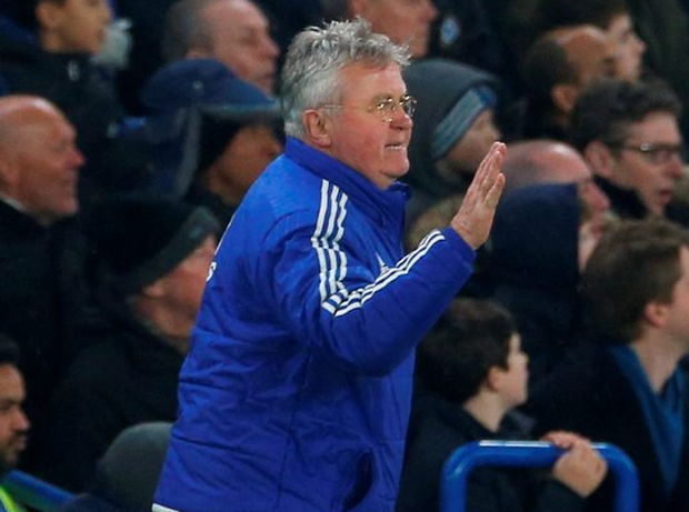 Chelsea interim manager Guus Hiddink. Photo: Andrew Couldridge/Reuters
