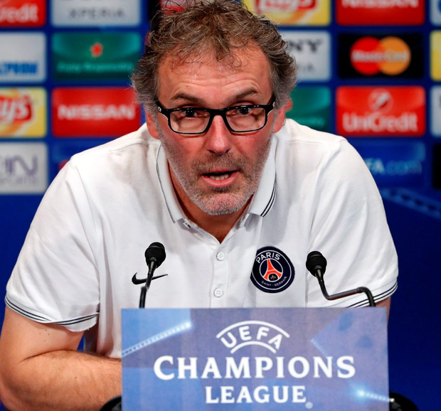 Laurent Blanc. Photo: Benoit Tessier/Reuters