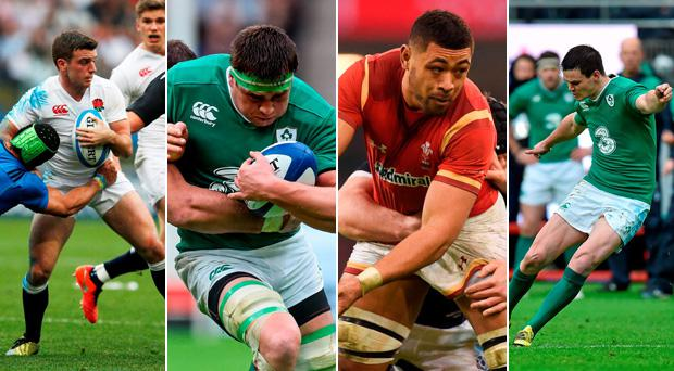 The players above have been topping the list for certain statistics in the opening two rounds of the Six Nations