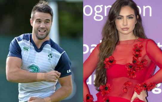 Conor Murray and Shauna Lindsay