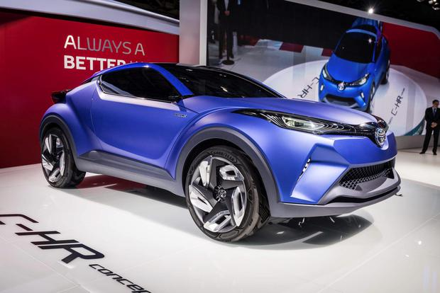 Toyota will make its new compact SUV/crossover in Turkey based on its C HR Concept (pictured).