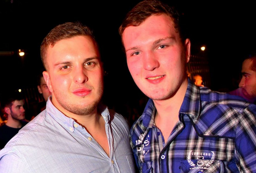 Kieran Bowes (right) and his brother Jarrad. Photo: Facebook