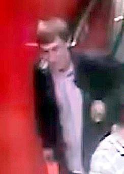 The man police would like to speak to in connection with the indecent assault of an 11-year-old as she watched a magic show at world famous toy shop Hamleys. Photo: Metropolitan Police/PA Wire