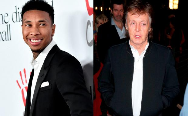 Tyga and Paul McCartney