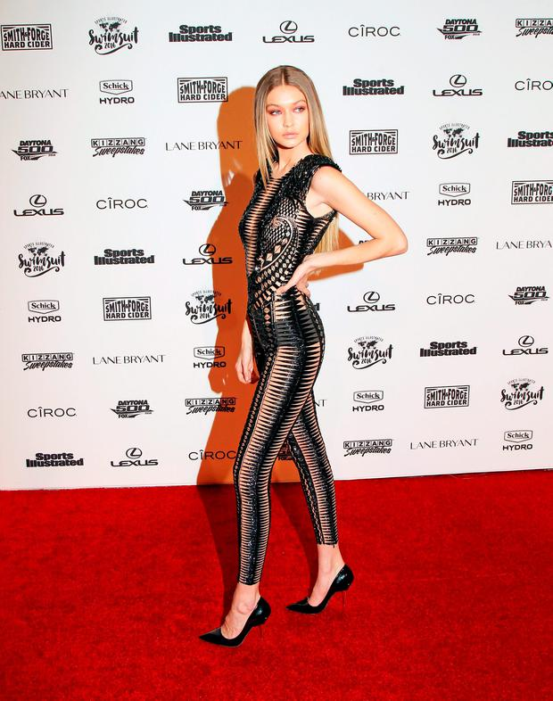 Model Gigi Hadid attends the Sports Illustrated Celebrates Swimsuit 2016 at Brookfield Place on February 16, 2016 in New York City. (Photo by Bennett Raglin/Getty Images)