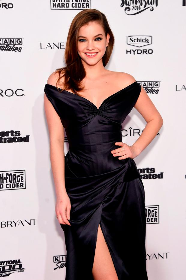 Model Barbara Palvin attends the Sports Illustrated Swimsuit 2016 - NYC VIP press event on February 16, 2016 in New York City. (Photo by Jamie McCarthy/Getty Images for Sports Illustrated)