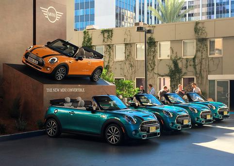 Los Angeles was the launch venue this week for the fourth generation Mini Convertible
