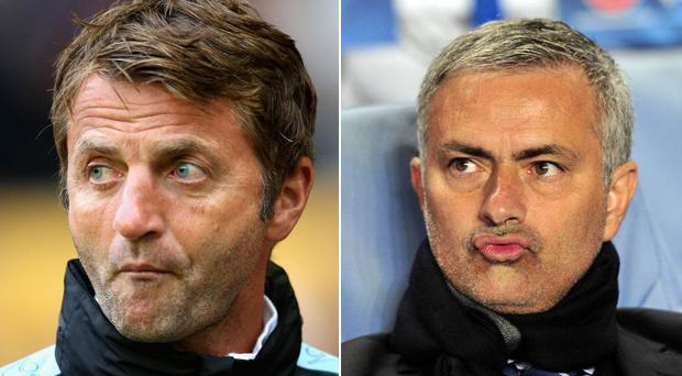 Tim Sherwood would be a better Manchester United replacement for Louis Van Gaal than Jose Mourinho according to former defender Paul Parker
