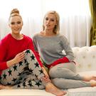 Models Grace O'Mahony and Sarah Morrissey wearing Lucy Nagle